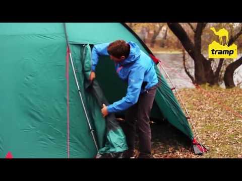 Кемпинговая палатка Tramp Bell. Сборка и установка палатки