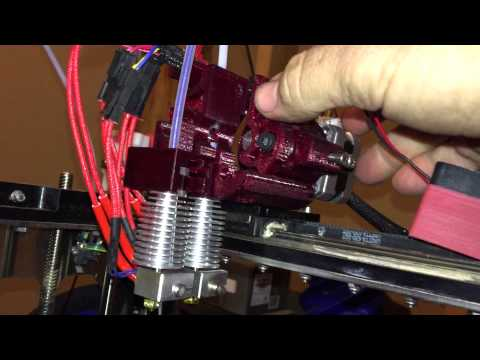 Dual extruder for my MakerGear M2