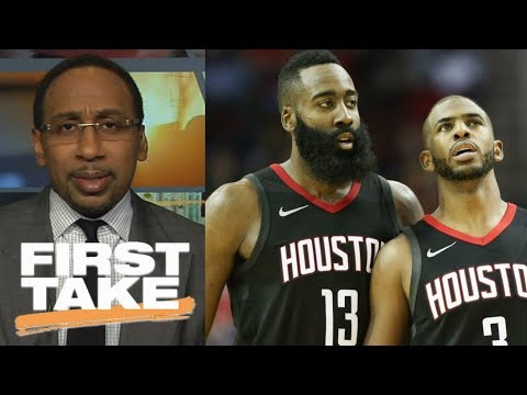 Stephen A. Smith believes in James Harden because of Chris Paul   First Take   ESPN