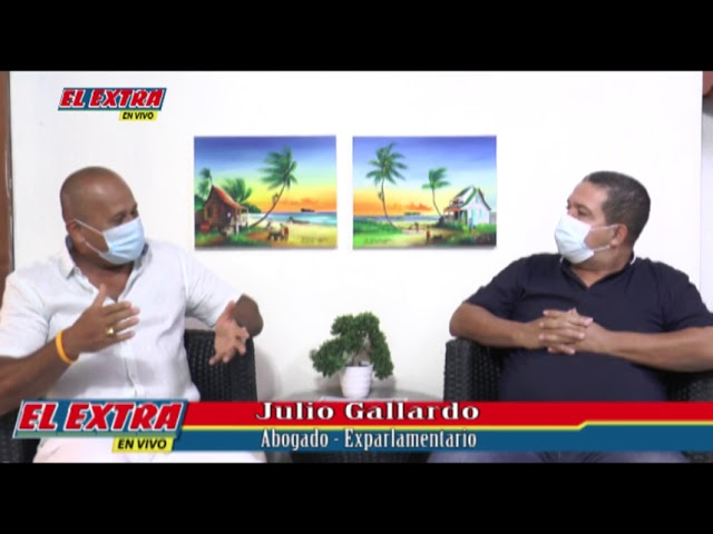 Directo con Edgar Villarreal, Julio Gallardo Abogado y ex-parlamentario en la isla de San Andrés.