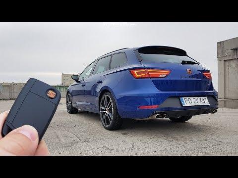 Seat Leon CUPRA Sportourer ST 2.0 TSI 300 DSG 4Drive TEST 2Fast & 2Boring