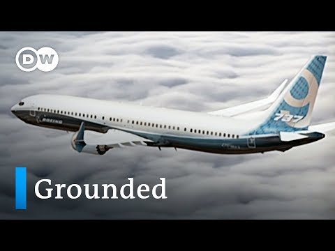 European Union grounds Boeing 737 Max Airplanes | DW News
