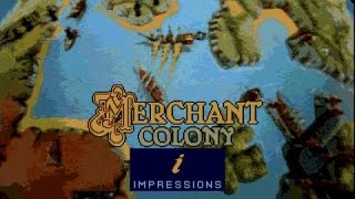 Merchant Colony gameplay (PC Game, 1991)