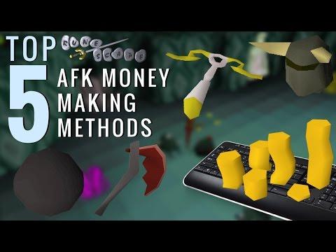 TOP 5 AFK Money Making Methods - Old School Runescape