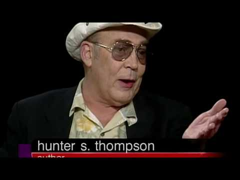 Hunter S. Thompson interview on his Life and Career (2003)