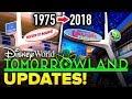 NEW TOMORROWLAND UPDATES for Walt Disney World's 50th Anniversary! - Disney News Update