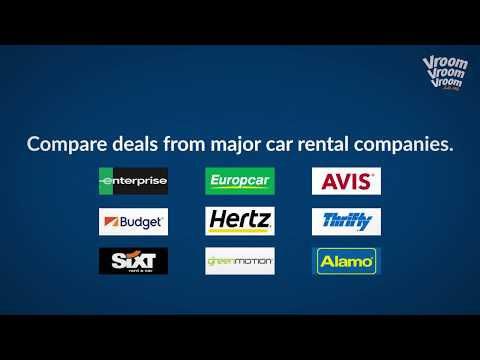 How to book a rental car in the UK