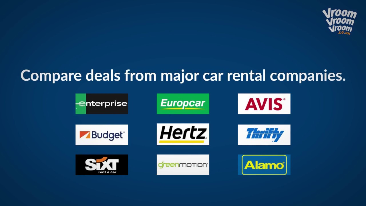 How To Book A Rental Car In The Uk Youtube