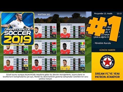 Doğan Yıldızlar Macerası Başlıyor! Bölüm 1 ! Dream League Soccer 2019