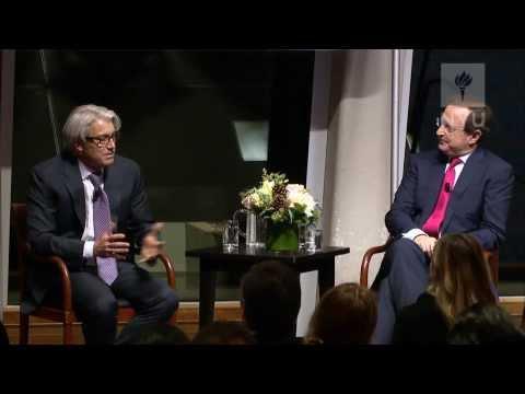 Paul Polizzotto of CBS Eco Media & Anthony Mason of CBS at NYU Reynolds, 12/5/14