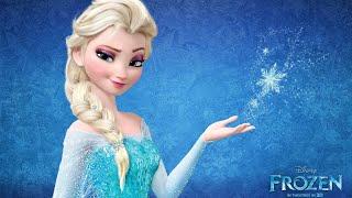 Frozen Elsa Keçeli Kalem Boyama Sayfası Karlar ülkesi Elsa Boyama