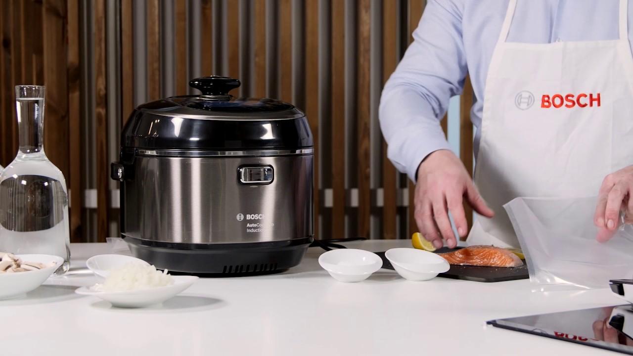 autocook bosch cuisine rapidement pour vous de d licieuses recettes youtube. Black Bedroom Furniture Sets. Home Design Ideas