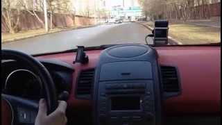 Урок руления при прохождении поворотов