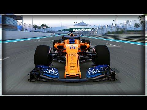 Fernando Alonso Tribute | 2018 F1 Abu Dhabi Grand Prix - Alonso's Final Race - F1 2018 Game