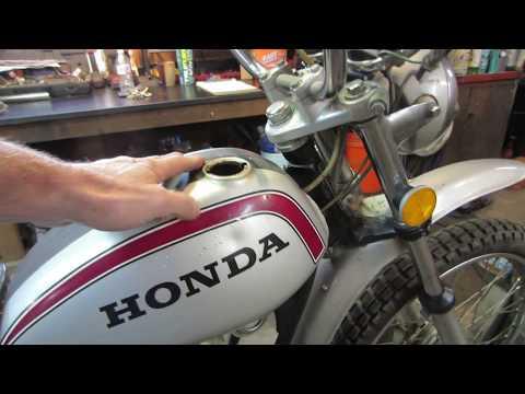 will it run? 1972 honda sl 125
