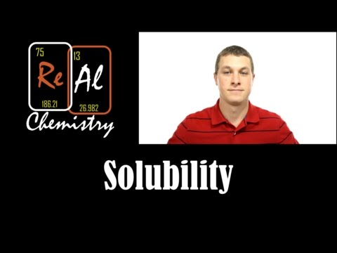 How To Determine If An Ionic Compound Is Soluble - Real Chemistry