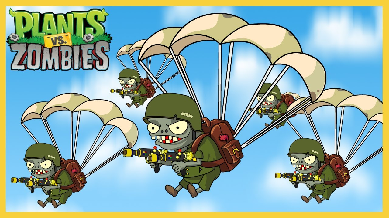 Plants vs Zombies - The Marine 1: There Is No Way Back