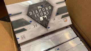 2019 DIAMOND ICONS CASE BREAK!  $6000 BOX OF CARDS!