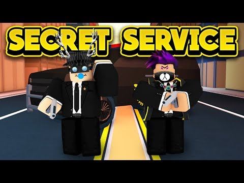 THE SECRET SERVICE INVADES JAILBREAK! (ROBLOX Jailbreak)
