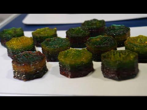 Nourished Personalised 3D Printed Vitamins and Food