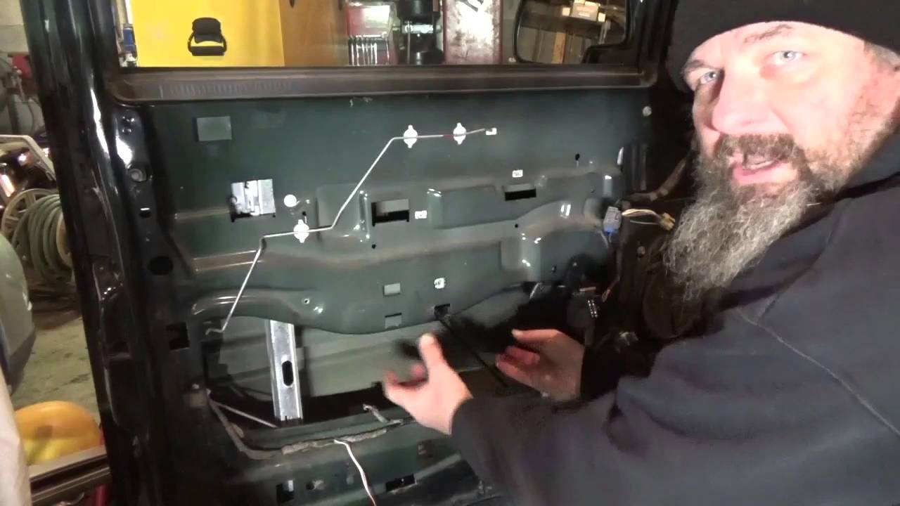 Replacing Gm Drivers Front Window Regulator Motor Embly On A 2002 Chevy Tahoe