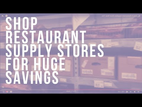 Find A Restaurant Supplies Store Near You