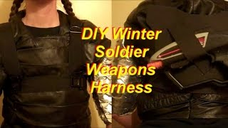 Winter Soldier Costume Tutorial: Weapons Harness