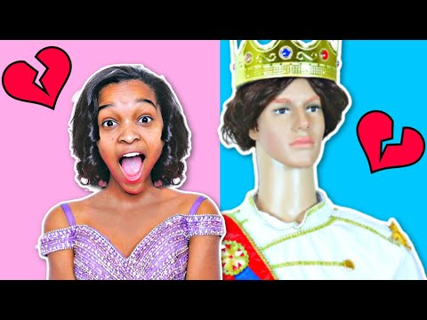 Thumbnail: Bad Baby Prince Charming ATTACKS Shiloh And Shasha - Disney Mannequin Attacks - Onyx Kids