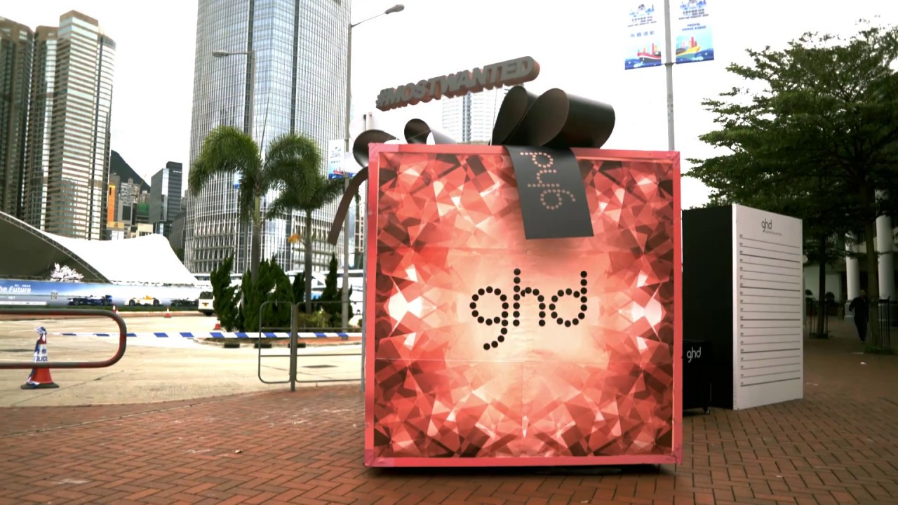 GHD Christmas brand activation Video - YouTube
