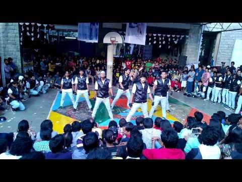 Dance Troupe Of NIT Trichy @ IIM Bangalore Unmaad'14