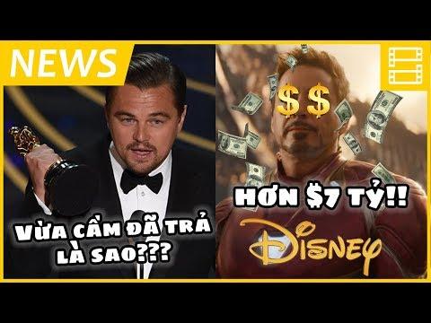Phê Phim News: LEO DICAPRIO TRẢ OSCAR!? | DISNEY BỘI THU 2018 | Doanh thu phim CAO nhờ PHỤ NỮ?