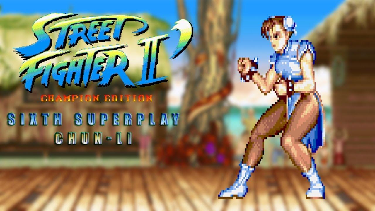 Street Fighter Ii Champion Edition Chun Li Tas Youtube