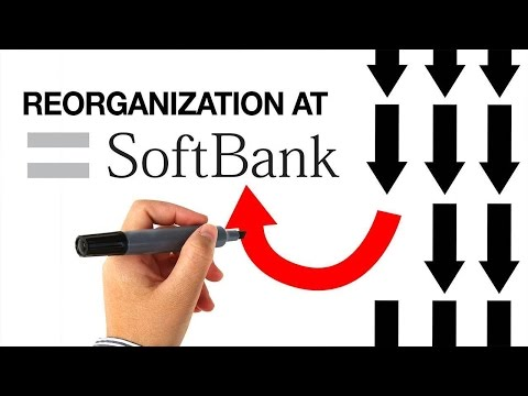 SoftBank Reorgs its Businesses into Two Operations Management Companies