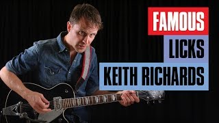 Learn Famous Keith Richards Lick | Guitar Tricks