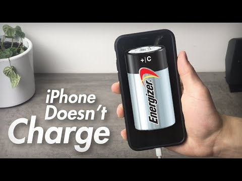 iPhone Won't Charge and It's Not the Charger