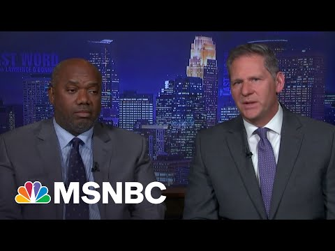 Prosecutors Speak To Lawrence After Chauvin Murder Conviction   The Last Word   MSNBC