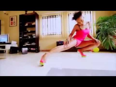 Maheeda Striped Naked & Dances In Pink Lingerie thumbnail