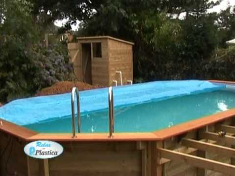 How to install a Wooden Pool Part 11/13 - Solar Cover - DIY