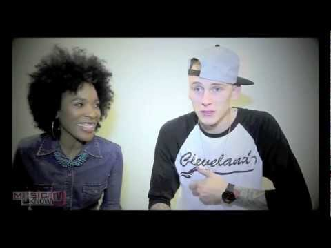 Machine Gun Kelly Interview with Angi T @Bad Boy/Interscope Records