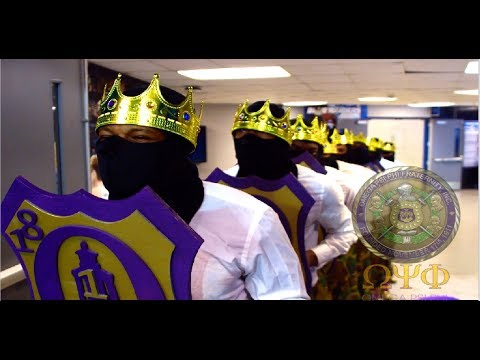 Omega Psi Phi Fraternity - (MZ Chapter) 👑Fall 18' New Initiate Presentation👑 (MTSU)