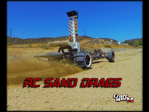 RC Sand Drags! Hpi Baja,Losi 5ive-T,FG 1/5 Scale Dragsters