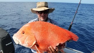 Big Red Emperor gets Sharked!!  Fishing video Classsic!! Thumbnail