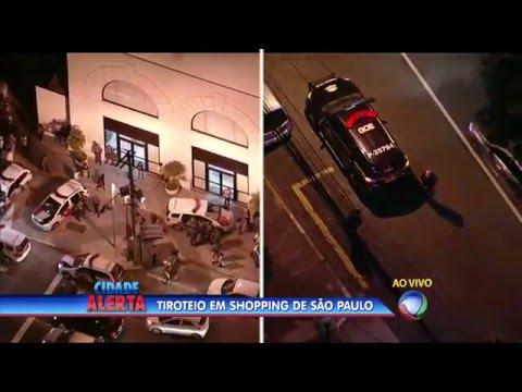Tiroteio em shopping center de São Paulo