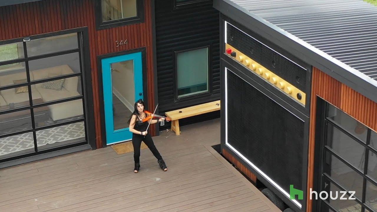 Asha Mevlana S Tiny Amplified House Youtube