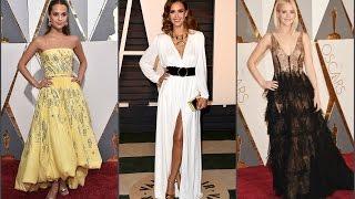 Оскар 2016: Лучшие платья звезд