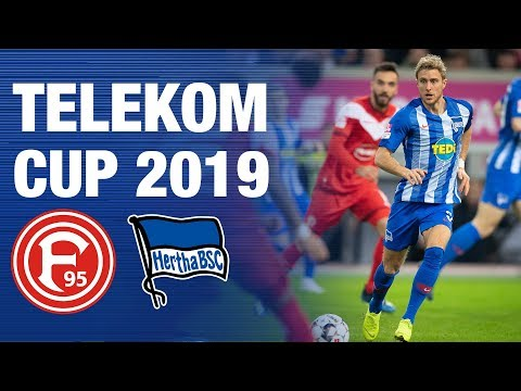 Hertha BSC vs Fortuna Düsseldorf - Highlights - TELEKOM CUP 2019
