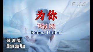 Wei Ni 為你 - 鄭曉填 [Karena dirimu] Sakit karenamu, menangis karenamu