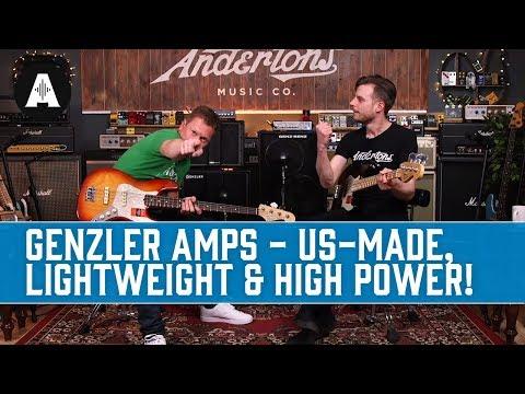 Genzler Amplification - Lightweight, High-output US-made Bass Amps!