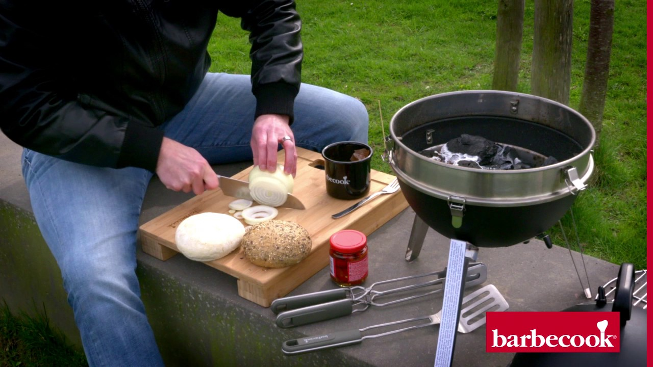 Barbecook Holzkohlegrill Carlo Test : Jalapeño burger auf dem grill barbecook billy youtube