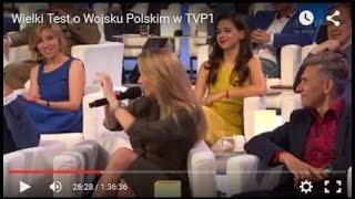 Wielki Test o Wojsku Polskim w TVP1